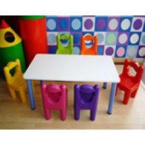 ชุดโต๊ะพร้อมเก้าอี้สำหรับเด็กปฐมวัย B1