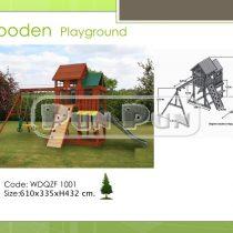Wooden Playground WDQZF1001