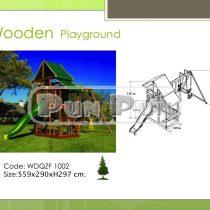 Wooden Playground WDQZF1002