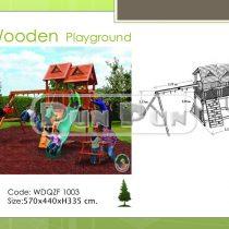 Wooden Playground WDQZF1003