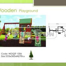 Wooden Playground WDQZF1006