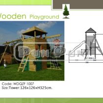 Wooden Playground WDQZF1007