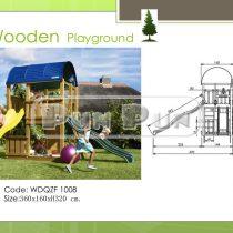 Wooden Playground WDQZF1008