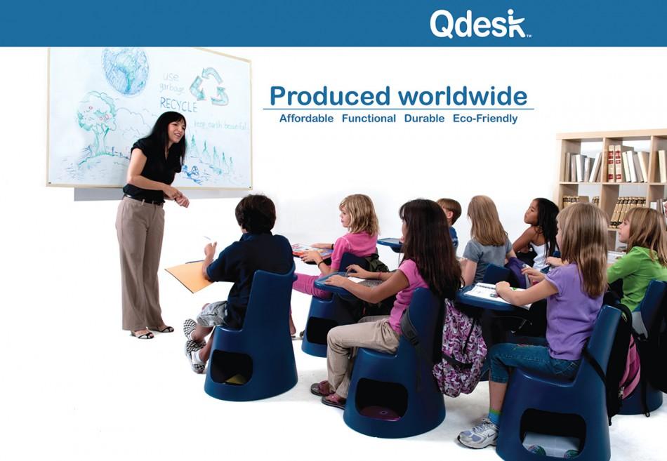 Qdesk class room