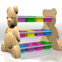 BEAR TOYS RACK  ชั้นวางของเล่นหมีน้อย