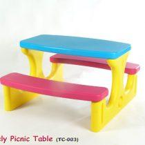 PICNIC TABLE โต๊ะปิคนิก-เลิฟลี่