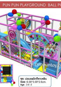 ball pit : MickeyMouse บ่อบอลมิกกี้พาเพลิน