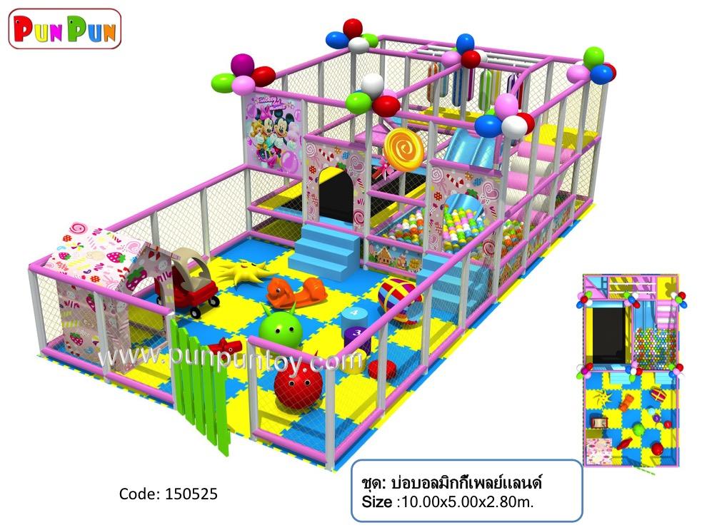 ball pit : Mickey Playland บ่อบอลมิกกี้เพลย์แลนด์