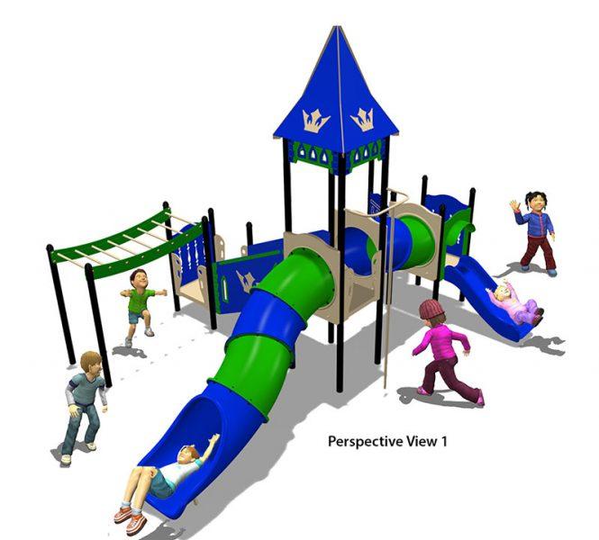 HDPE playground