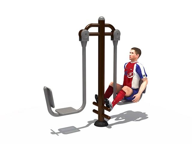 Fitness : เครื่องออกกำลังกาย ขาเหยียดคู่