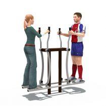 Fitness : เครื่องออกกำลังกาย ฝึกก้าวเดินคู่