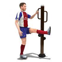 Fitness : เครื่องออกกำลังกาย ยืดขาพร้อมมือจับ แนวตั้ง