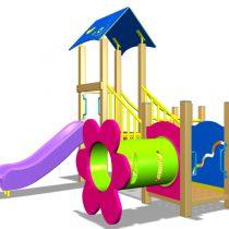 Wood Playground A1 : สนามเด็กเล่นไม้ A1