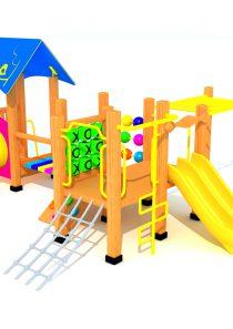 Wood Playground A4 : สนามเด็กเล่นไม้ A4