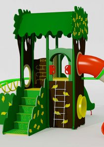 HDPE Playground : Tree House 2