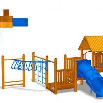 Wood Playground : สนามเด็กเล่นไม้