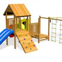 Wood Playground : บ้านอุโมงค์ดอกไม้แสนสนุก