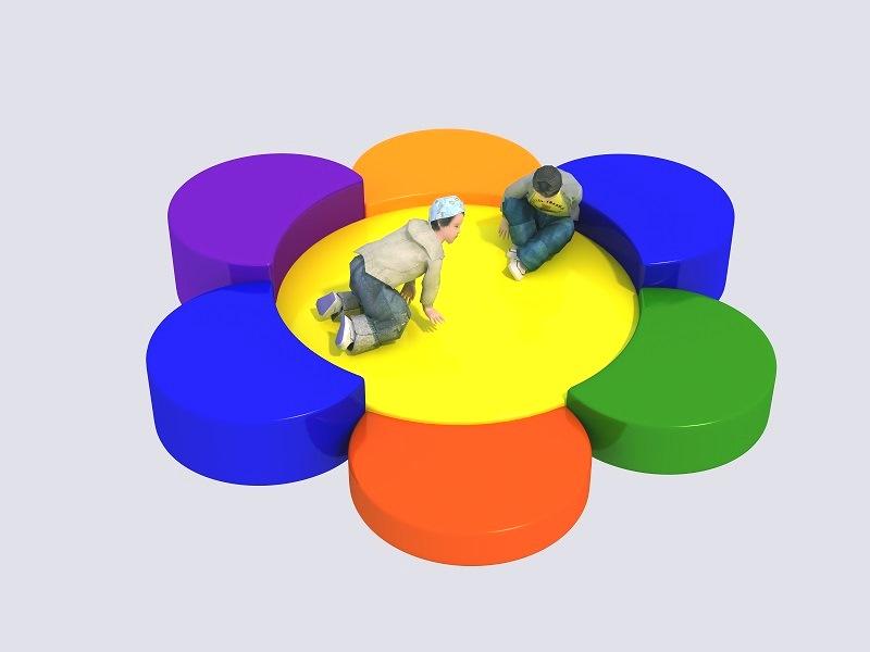 PunPunToy : Colorful Flower Cushion