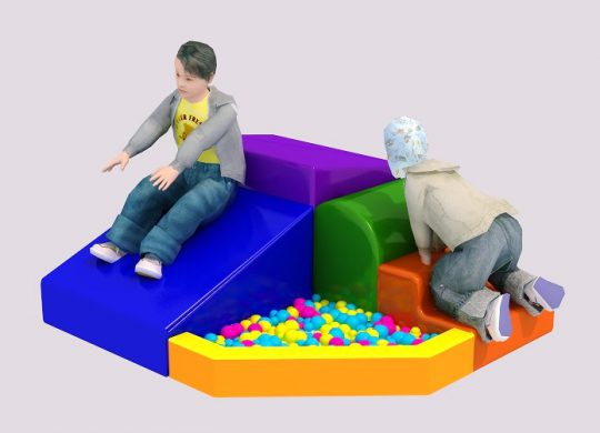PRIMARY CORNER CLIMBERS WITH BALL POOL