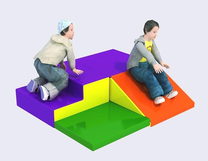 PunPunToy : Climbing a small Soft Slide