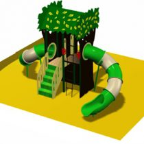 HDPE Playground : Tree House 1