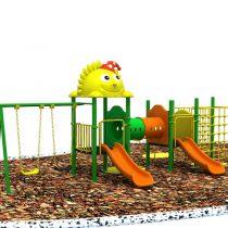 เครื่องเล่นเด็กกลางแจ้ง สพฐ. code: IMPH01 พระอาทิตย์ยามเช้า