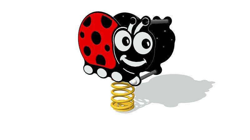 Spring Rider Ladybug