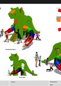 HDPE Playground : Gozila
