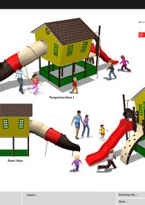 HDPE Playground : Big House