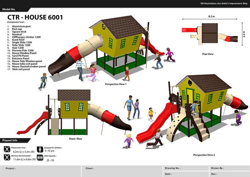 HDPE Playground : Big House