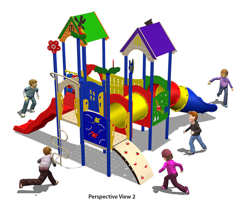 HDPE Playground : Villa 2