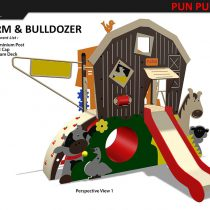 HDPE Playground : Farm House