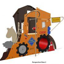 HDPE Playground : Farm House