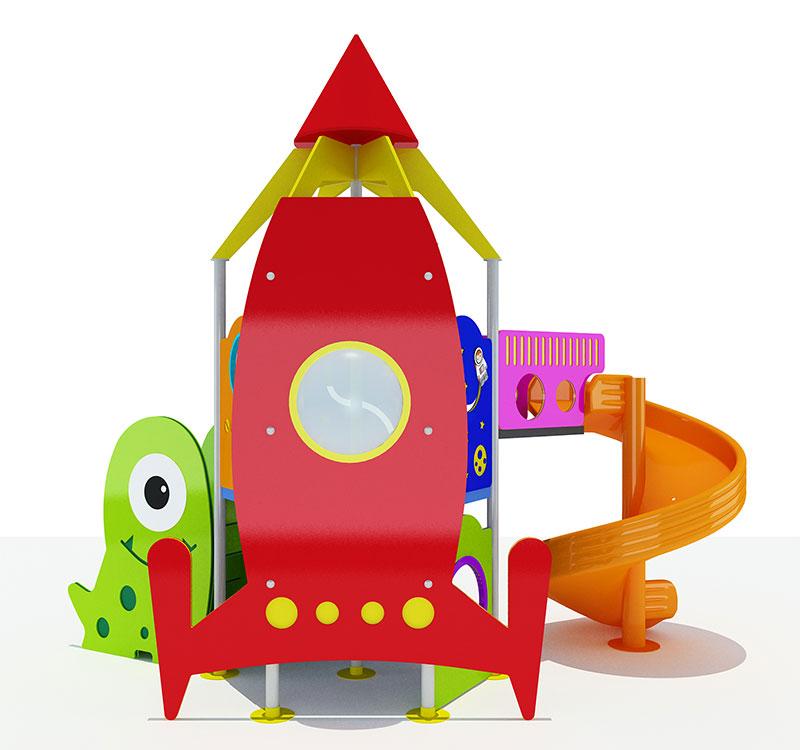 HDPE Playground : Crazy Rocket