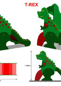 HDPE Playground : T-Rex