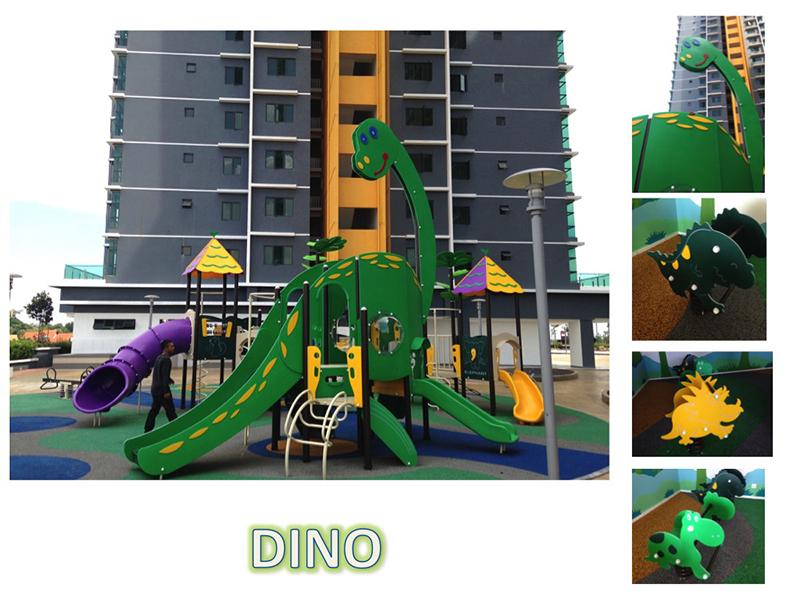HDPE Playground : Dino