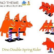 Dino Double Spring Rider