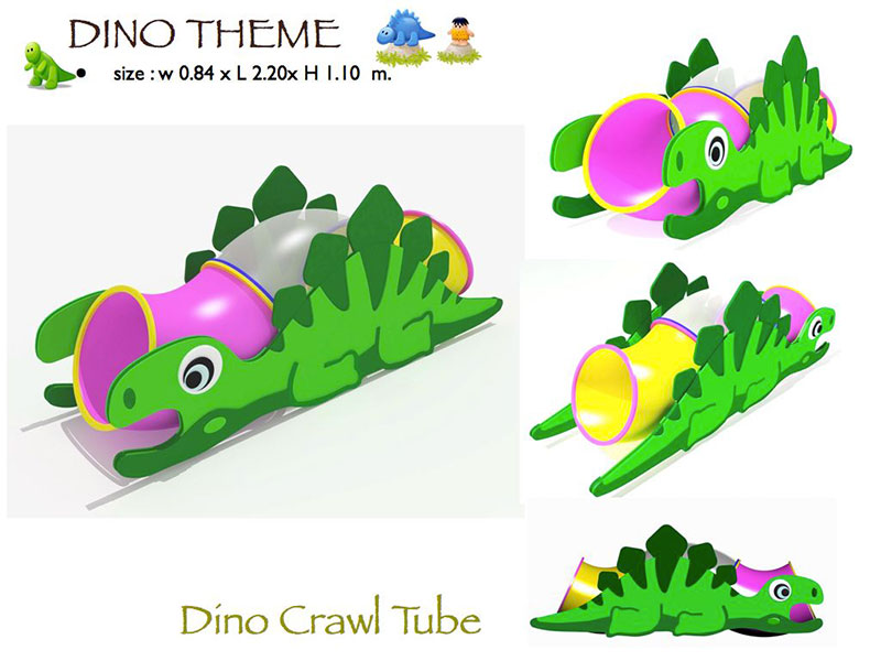 Dino Crawl Tube