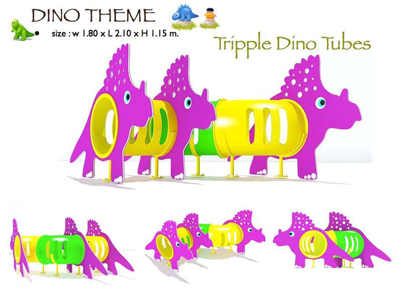 Tripple Dino Tubes