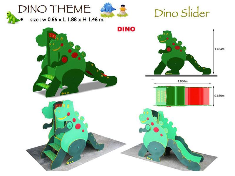 HDPE Playground Dino 1