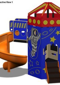 HDPE Playground : Rocket 1