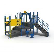 Wood Playground S1826 : สนามเด็กเล่นสไลด์เดอร์ยักษ์ HAPPY LAND