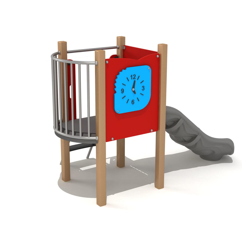Wood Playground S1813 : สนามเด็กเล่นสไลด์เดอร์ HAPPY LAND