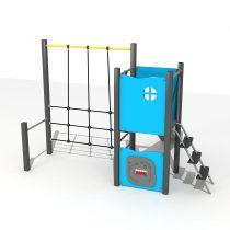 Wood Playground S1817 : สนามเด็กเล่นสไลด์เดอร์ปีนป่าย HAPPY LAND