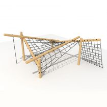 Wood Playground T25 : ปีนป่ายขึ้นลง Viking