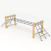 Wood Playground T03 : Climbing Rope ปืนป่ายยาวสองฝั่ง
